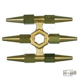 Étoile 6 becs acétylène pour chalumeau Cirrus 0 et Cirrus 0M