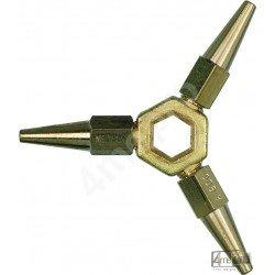Étoile 3 becs acétylène pour chalumeau forte capacité Cirrus 1