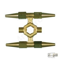 Étoile 4 becs acétylène pour chalumeau forte capacité Cirrus 2