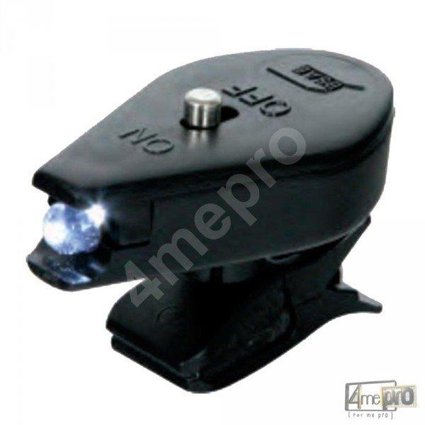 lampe clipser nevalite orientable 360 pour masque de soudage. Black Bedroom Furniture Sets. Home Design Ideas